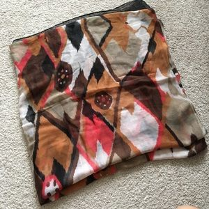 Patterned Polyester Scarf